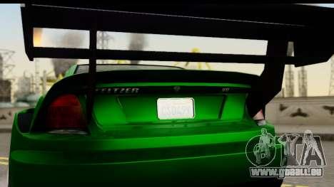 GTA 5 Benefactor Feltzer SA Mobile pour GTA San Andreas vue de droite