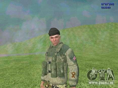Soldaten des Bataillons Zorya für GTA San Andreas