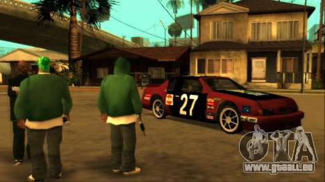 Beta Hotring Racer pour GTA San Andreas laissé vue