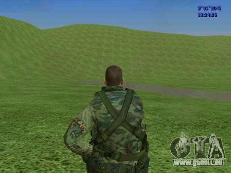 Un combattant de Sparte bataillon pour GTA San Andreas septième écran