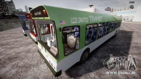 GTA 5 Bus v2 pour GTA 4 roues