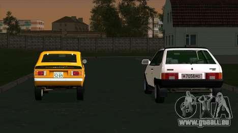 Mitsubishi Minica Skipper pour GTA San Andreas laissé vue