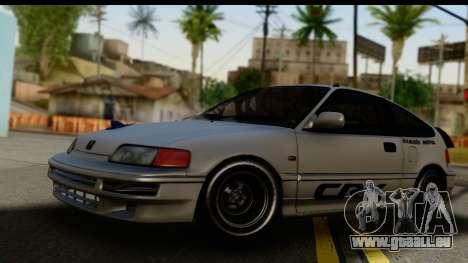 Honda CRX Dragster pour GTA San Andreas