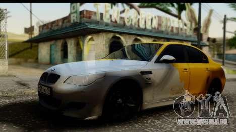 BMW M5 Gold pour GTA San Andreas