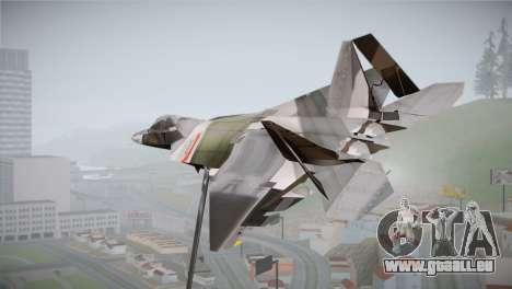F-15 JASDF 50th Anniversary pour GTA San Andreas laissé vue