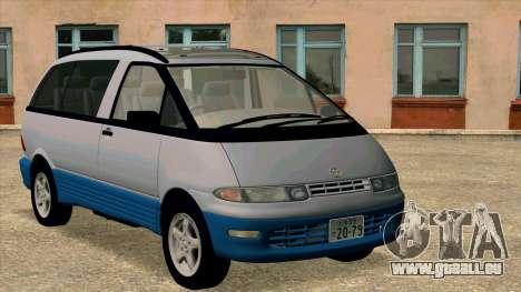 Toyota Estima Lucida 1990 pour GTA San Andreas laissé vue