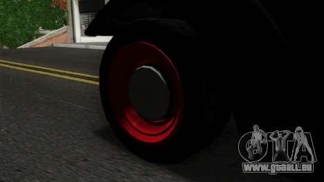 GTA 5 Bravado Rat-Truck SA Mobile pour GTA San Andreas sur la vue arrière gauche