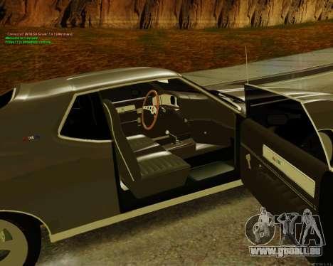 AMC AMX Brutol pour GTA San Andreas sur la vue arrière gauche