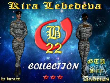 Kira Lebedev pour GTA San Andreas septième écran