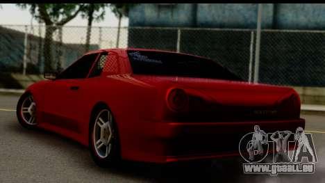 Elegy by Molniya pour GTA San Andreas laissé vue