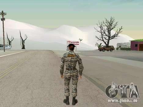 Kira Lebedev pour GTA San Andreas troisième écran