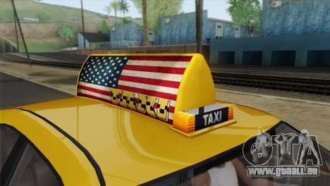 GTA 5 Bravado Buffalo S Downtown Cab Co. für GTA San Andreas rechten Ansicht