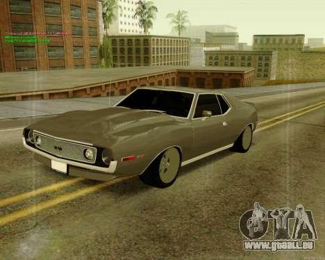 AMC AMX Brutol pour GTA San Andreas