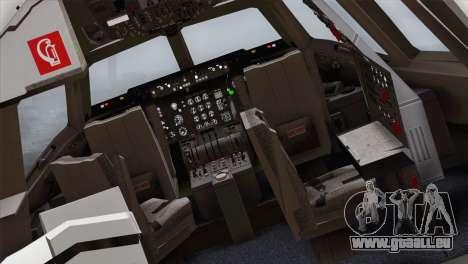 DC-10-30 Garuda Indonesia für GTA San Andreas Rückansicht