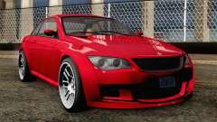 GTA 5 Ubermacht Sentinel Coupe IVF