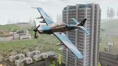 Embraer A-29B Super Tucano Navy Blue