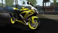 Suzuki GSX-R 2015 Yellow & White