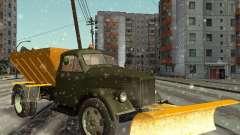 GAS-51 Schneefräse