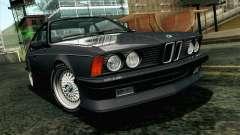 BMW M635CSI E24 1986 V1.0 EU Plate