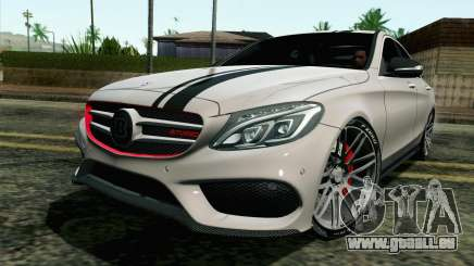 Mercedes-Benz C250 AMG Brabus Biturbo Edition pour GTA San Andreas