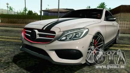 Mercedes-Benz C250 AMG Brabus Biturbo Edition pour GTA San Andreas