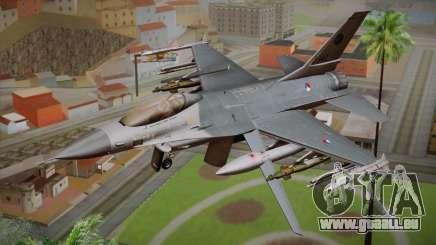 F-16 Fighting Falcon RNLAF Solo Display J-142 für GTA San Andreas