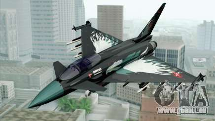 EuroFighter Typhoon 2000 Black Hawk pour GTA San Andreas