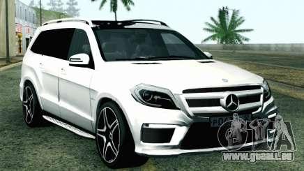 Mercedes-Benz GL63 AMG 2014 pour GTA San Andreas