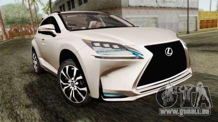 Lexus NX 200T für GTA San Andreas