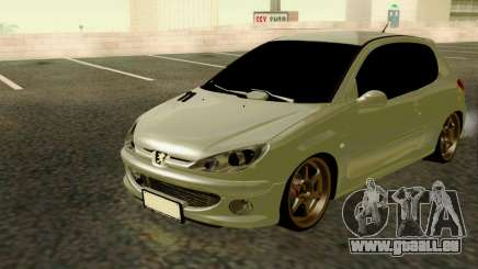 Peugeot 206 Street Racer Tuning pour GTA San Andreas