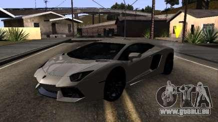 Lamborghini Aventador Tron für GTA San Andreas