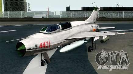 MIG-21UM Vietnam Air Force für GTA San Andreas