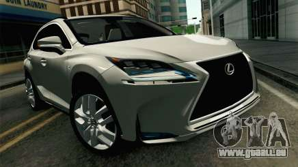 Lexus NX 200T v2 pour GTA San Andreas