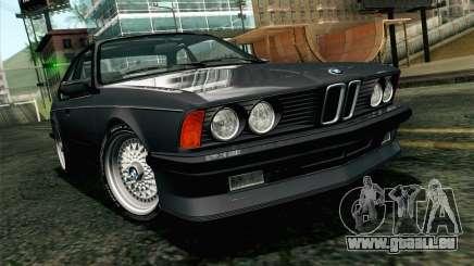 BMW M635CSI E24 1986 V1.0 EU Plate pour GTA San Andreas