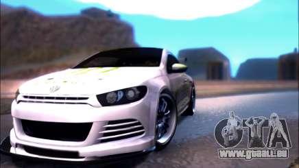 Volkswagen Scirocco Tunable pour GTA San Andreas
