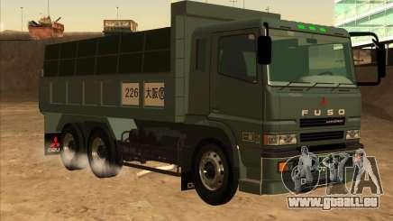 Mitsubishi Fuso Super Great Dump Truck pour GTA San Andreas