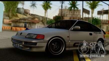 Honda CRX Dragster für GTA San Andreas