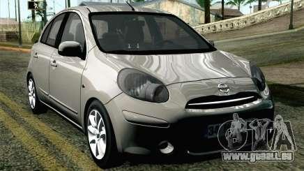 Nissan Micra für GTA San Andreas
