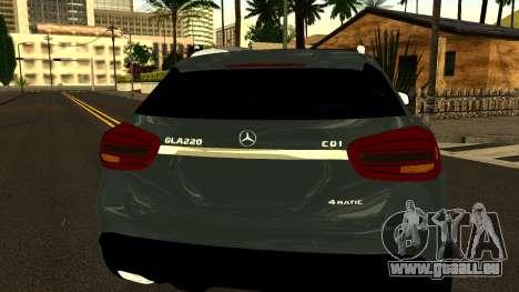 Mercedes-Benz GLA220 2014 für GTA San Andreas Seitenansicht