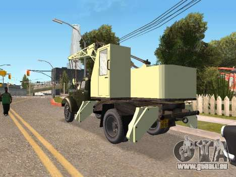 ZIL K pour GTA San Andreas sur la vue arrière gauche
