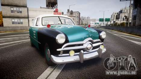 Ford Custom Deluxe Fordor 1949 New York Police für GTA 4