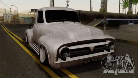 Ford F-100 1956 Stay Low für GTA San Andreas