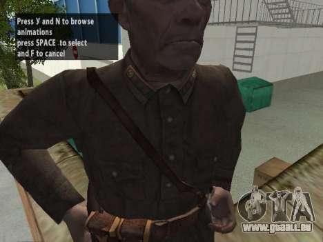 Kommissar Markov für GTA San Andreas fünften Screenshot