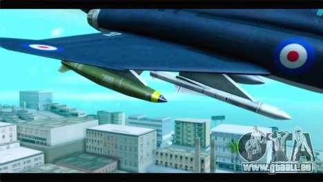 McDonnell Douglas F-4E RAF für GTA San Andreas rechten Ansicht