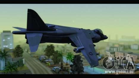 AV-8B Harrier Estovakian Air Force für GTA San Andreas linke Ansicht