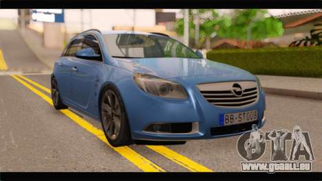 Opel Insignia Wagon pour GTA San Andreas