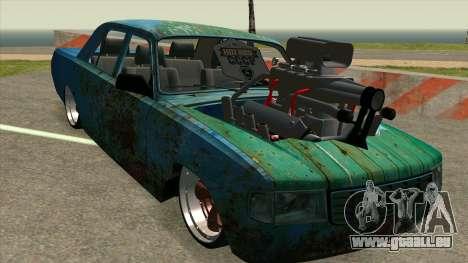 GAZ 31029 pour GTA San Andreas laissé vue