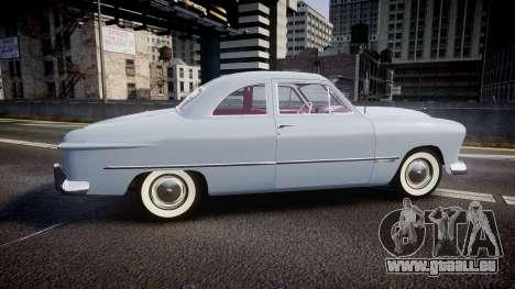 Ford Custom Club 1949 v2.2 pour GTA 4 est une gauche