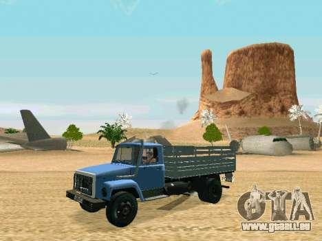 GAZ 3309 für GTA San Andreas