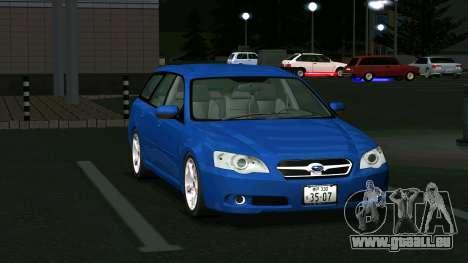 Subaru Legacy Touring Wagon 2003 pour GTA San Andreas laissé vue
